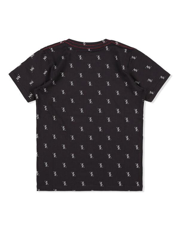 "T-shirt Round Neck SS ""Royal Black"""