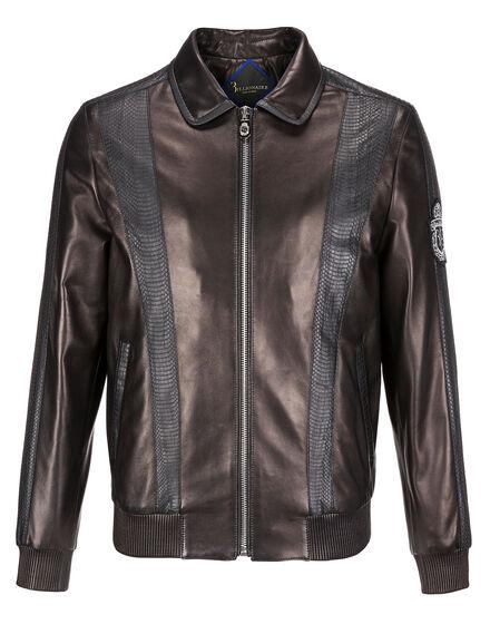 Leather Bomber Thibaut