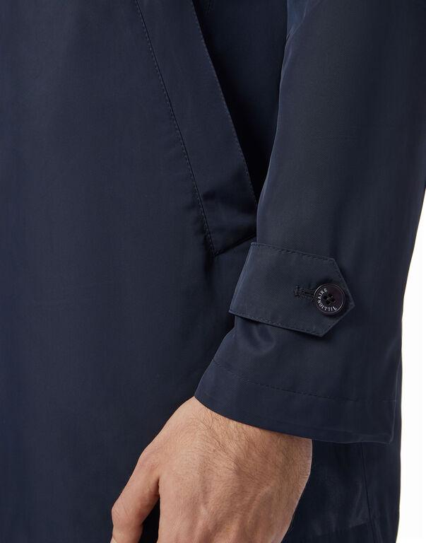 Coat Long nylon Crest