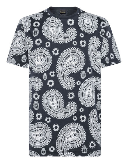 T-shirt Round Neck SS Paisley