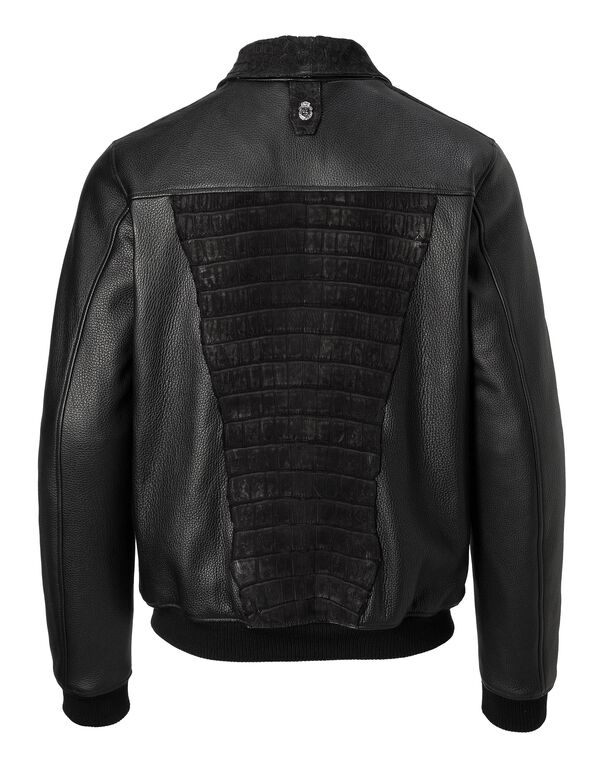 "Leather Jacket ""Maximilian"""