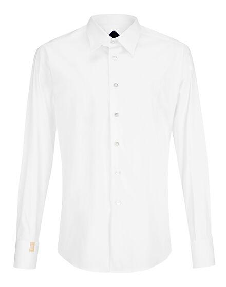 Shirt Gold Cut LS / Milano Crest