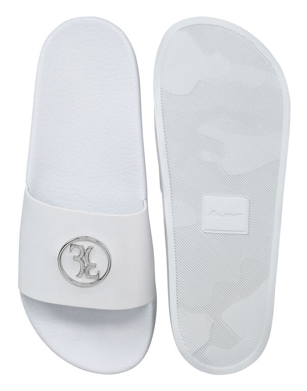 Flat gummy sandals Double B
