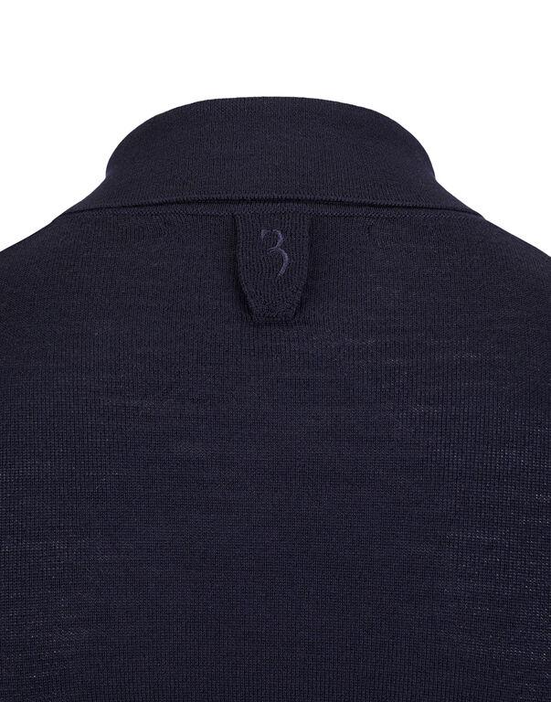 """Pullover Polo-Neck LS """"Greul"""""""
