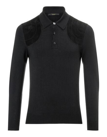 Pullover Polo-Neck LS Nassen