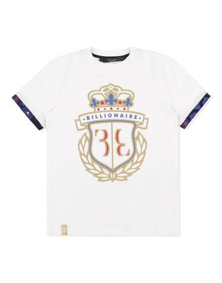 T-shirt Round Neck SS White Harm