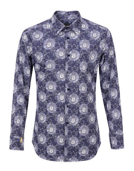 Shirt Silver Cut LS Al