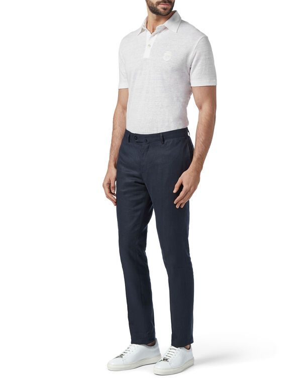 Slim Trousers Chino Crest
