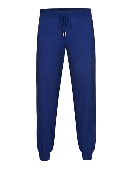 Knit Jogging Trousers -T Crest