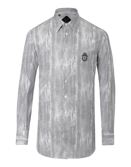 Shirt Silver Cut LS Claude