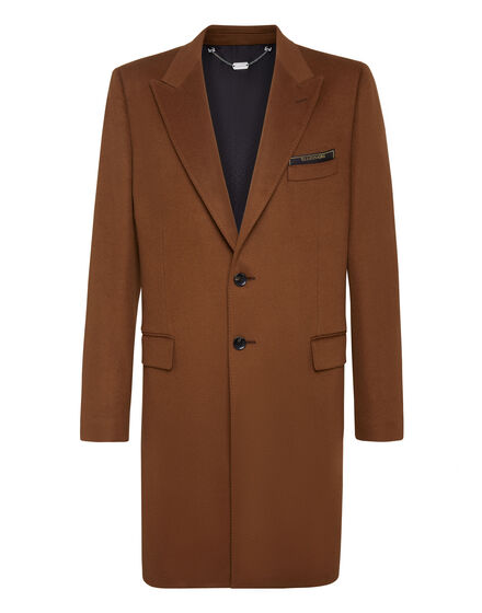 Coat Long Cashmere Istitutional