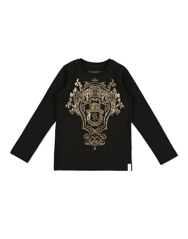 T-shirt Round Neck LS Baroque