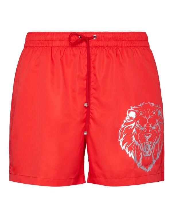 Beachwear Short Trousers Lion