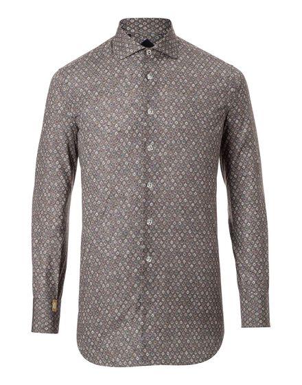 Shirt Silver Cut LS Shodow