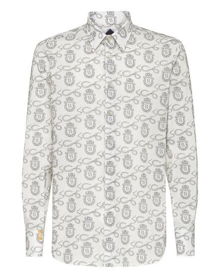 Shirt Silver Cut LS Snake