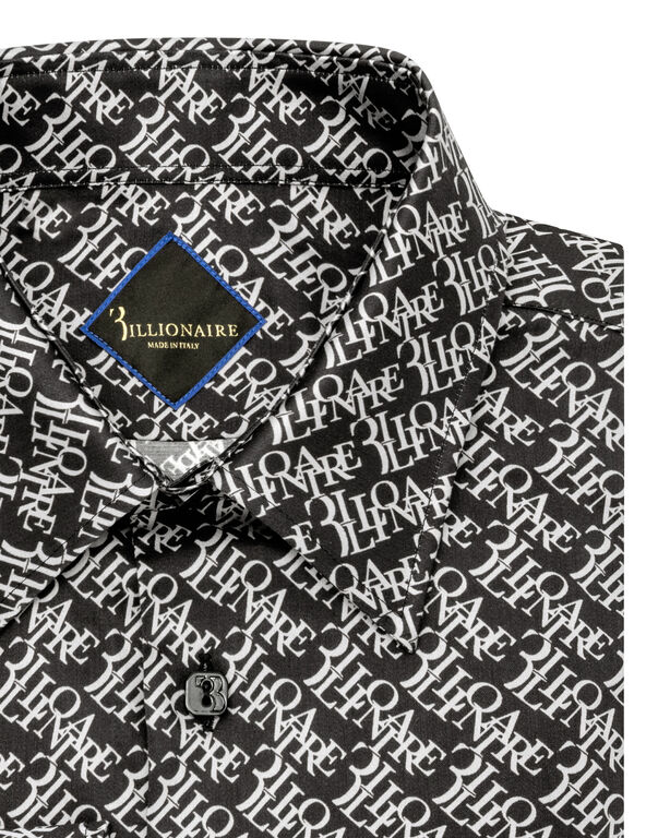 Shirt Silver Cut LS Logos