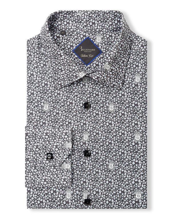 """Shirt Silver Cut LS """"Matthiew"""""""