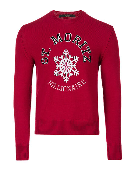 Pullover Round Neck LS Winter Club
