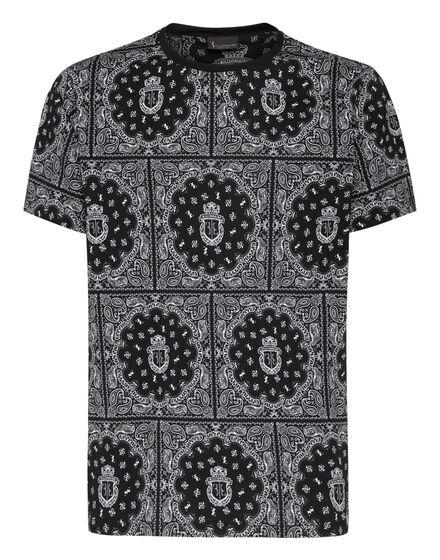 T-shirt Round Neck SS Geometric