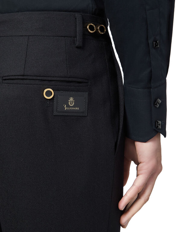 Long Trousers Regular Fit Logos