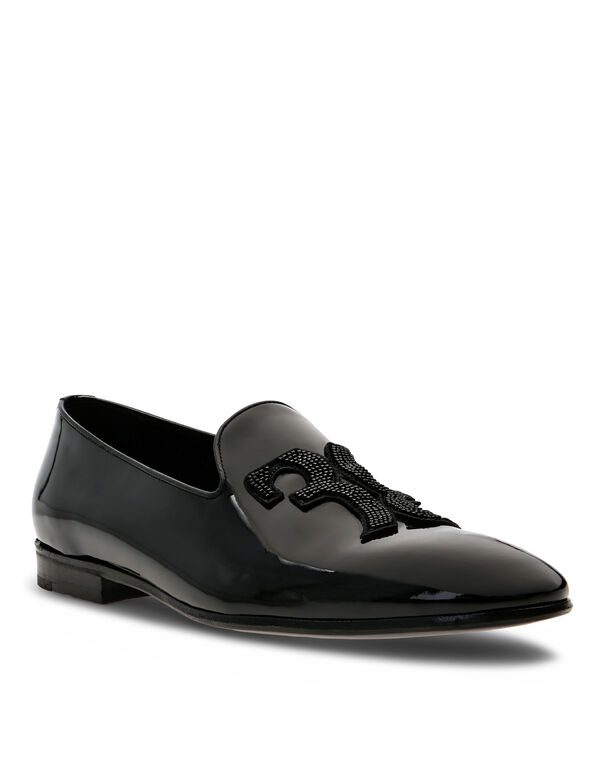 Loafers with Beads Double B