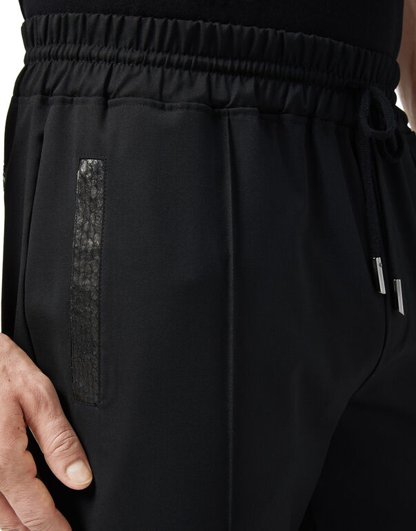 Knit Jogging Trousers - T Crest