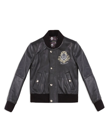 Leather Bomber Elvin
