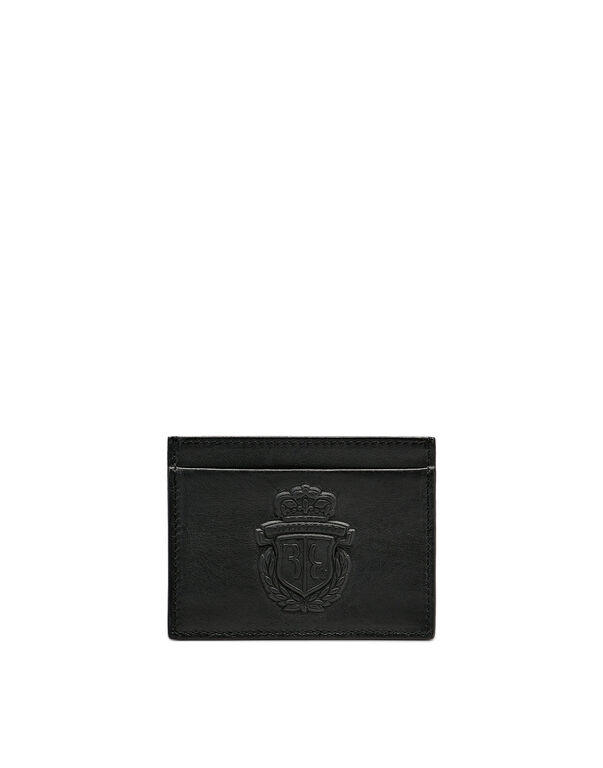 Credit Cards Holder Embossed Crest
