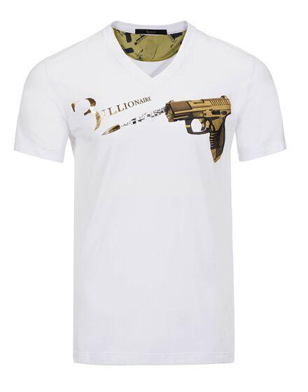 T-shirt V-Neck SS Arbus