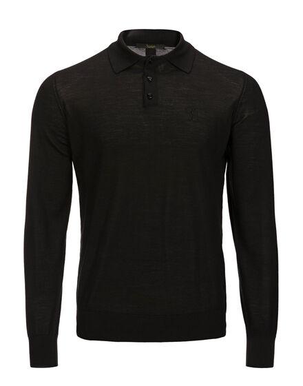 Pullover Polo-Neck LS Cross