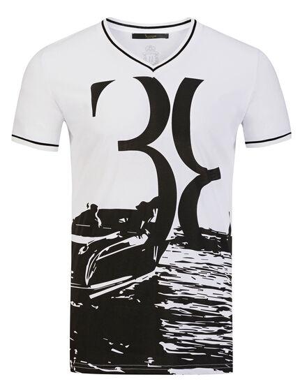 T-shirt V-Neck SS Colton