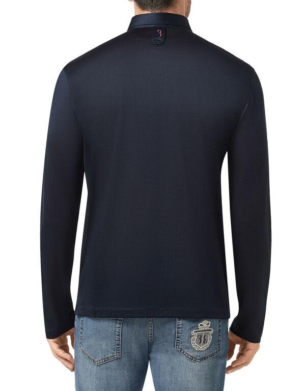 Polo shirt LS Crest