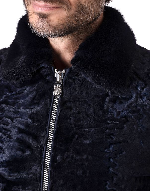 """Leather Bomber """"Tanguy"""""""