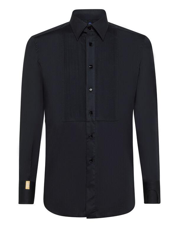 Shirt Silver Cut LS/Milano Elegant