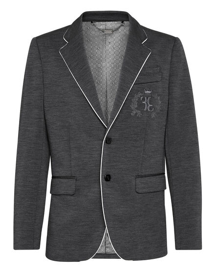 Blazer Super Slim Fit Baroque Double B