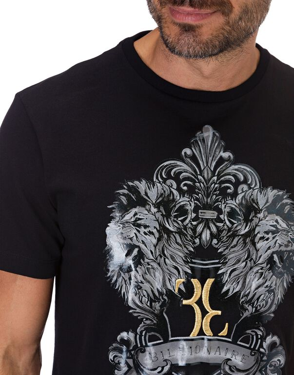 T-shirt Round Neck SS Double Lion