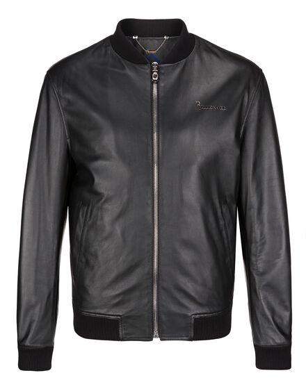 Leather Bomber Virgil
