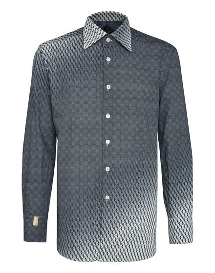 Shirt Silver Cut LS / Milano All over BB