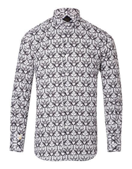 Shirt Silver Cut LS Leone