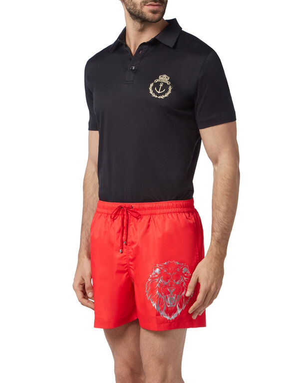 Beachwear Short Trousers Lion