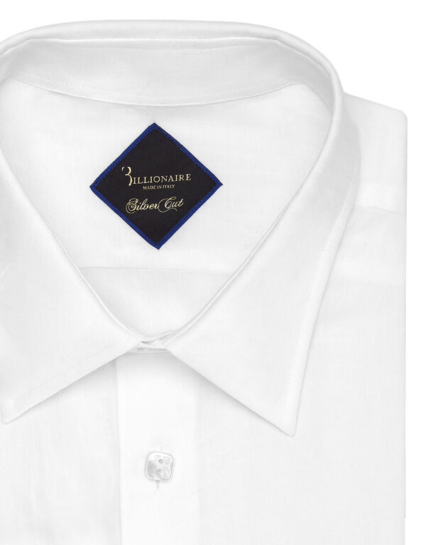 Shirt Silver Cut LS Palms