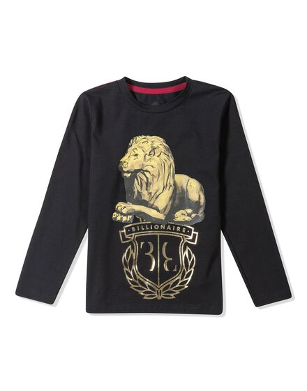 T-shirt Round Neck LS Royal King