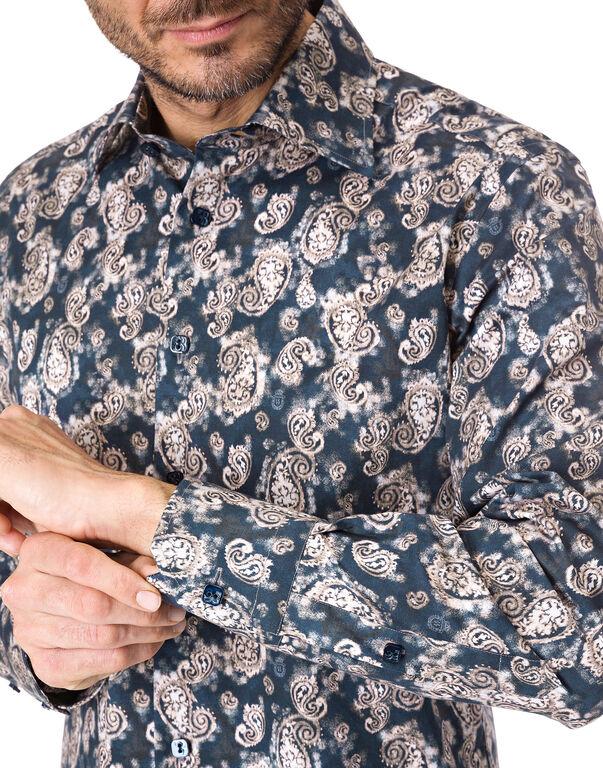 "Shirt Silver Cut LS ""Jorge"""