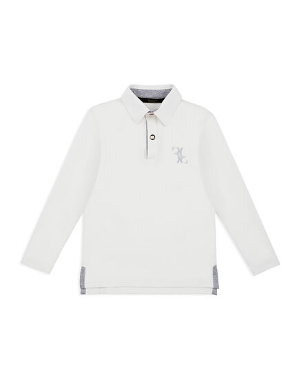 Polo shirt LS Double B