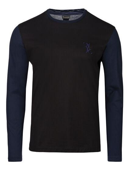 T-shirt Round Neck LS Double B