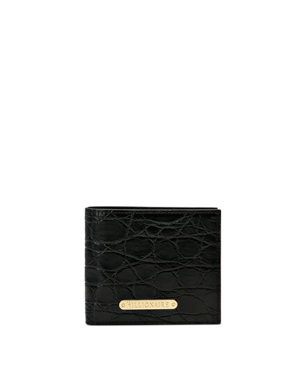 Crocodile French wallet Luxury