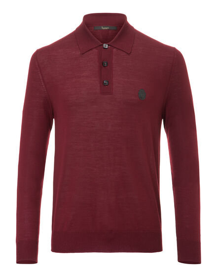 Pullover Polo Neck LS Chance
