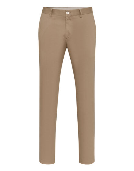 Slim Trousers Logos