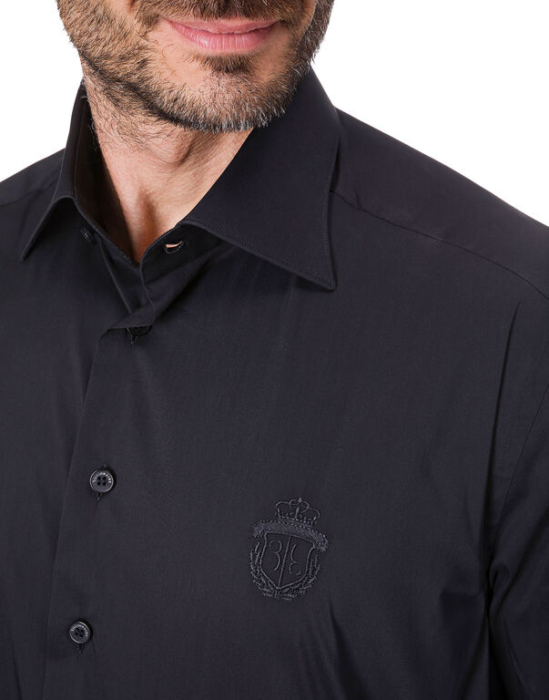 Shirt Gold Cut LS / Milano Crest