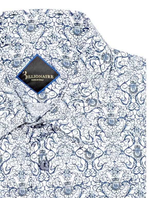 Shirt Silver Cut LS Crest